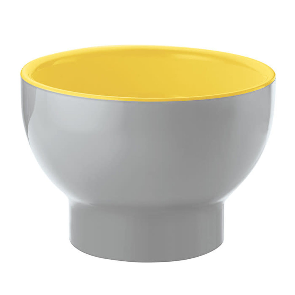 GUZZINI Two-Tone Bowl Vintage Plus - Yellow/Gray
