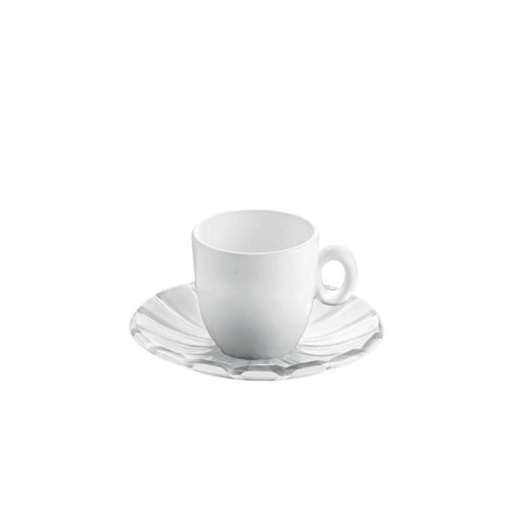 GUZZINI Set 2 Tasses à Espresso Grace Transparent