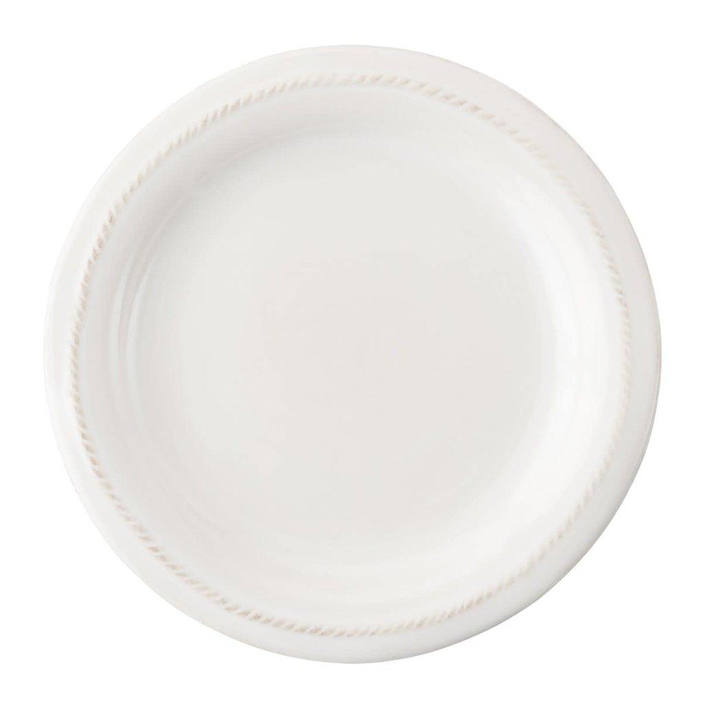 "JULISKA Berry & Thread Whitewash Side/Cocktail Plate 7""W"
