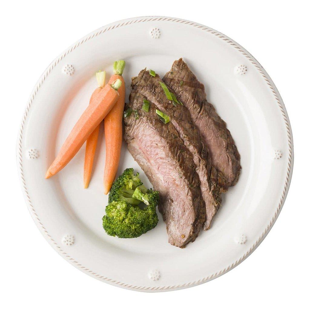 "JULISKA Berry & Thread Whitewash Dinner Plate 11""W"