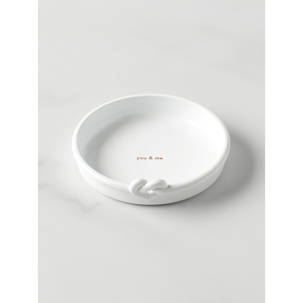 KATE SPADE With Love Mtl Ring Dish