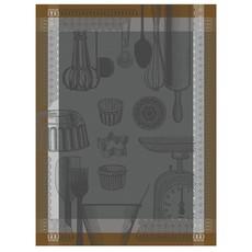 LE JACQUARD FRANCAIS Chef Patissier Ustensiles Tea Towel Equinox 24'' X 31''