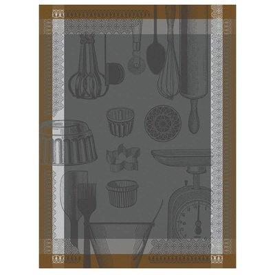 LE JACQUARD FRANCAIS Chef Patissier Ustensiles Torchon Equinox 24'' X 31''