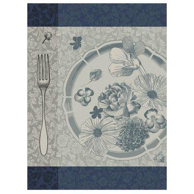 LE JACQUARD FRANCAIS Fleurs A Croquer Tea Towel Stamen 24'' X 31''