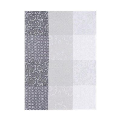 LE JACQUARD FRANCAIS Fleurs De Kyoto Tea Towel 24'' X 31'' Mist