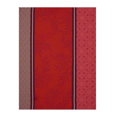 LE JACQUARD FRANCAIS Luberon Tea Towel 24'' X 31'' Red