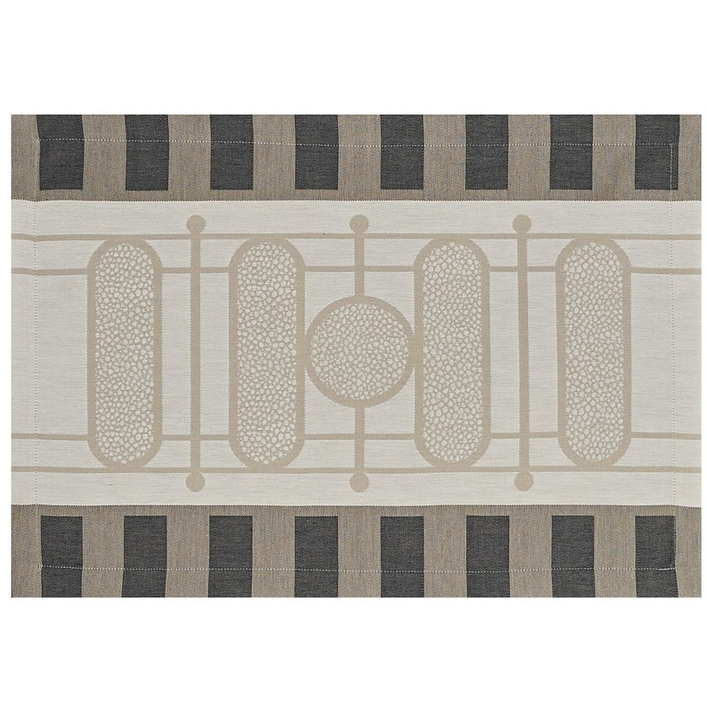LE JACQUARD FRANCAIS Palais Royal Napperon 20'' X 14'' Pierre