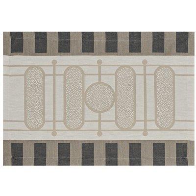 LE JACQUARD FRANCAIS Palais Royal Placemat 20'' X 14'' Stone