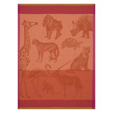 LE JACQUARD FRANCAIS Safari Tea Towel 24'' X 31'' Orange