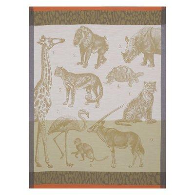 LE JACQUARD FRANCAIS Safari Tea Towel 24'' X 31'' Sand