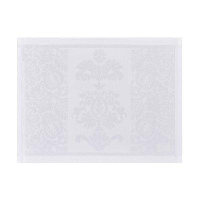 LE JACQUARD FRANCAIS Siena Napperon 23'' X 16 Blanc