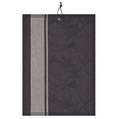 LE JACQUARD FRANCAIS Slow Life Maxi Tea Towel 24'' X 31'' Carbon