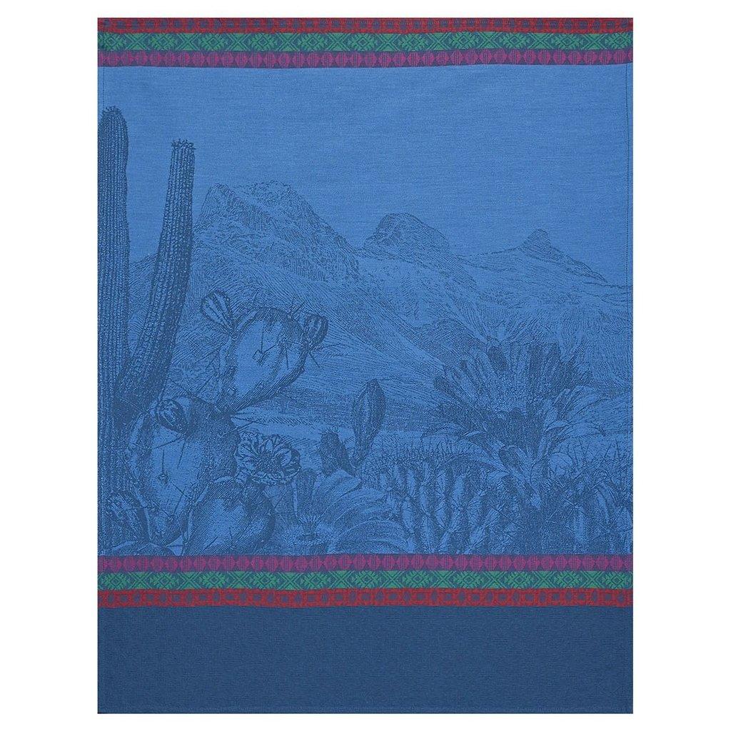 LE JACQUARD FRANCAIS Voyages Arizona Torchon 24'' X 31'' Denim