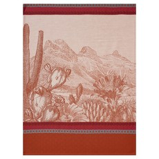 LE JACQUARD FRANCAIS Voyages Arizona Tea Towel 24'' X 31'' Leather