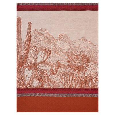 LE JACQUARD FRANCAIS Voyages Arizona Tea Towel 24'' X 31'' Leather