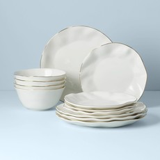LENOX BLUE BAY DW WHITE 12PC SET