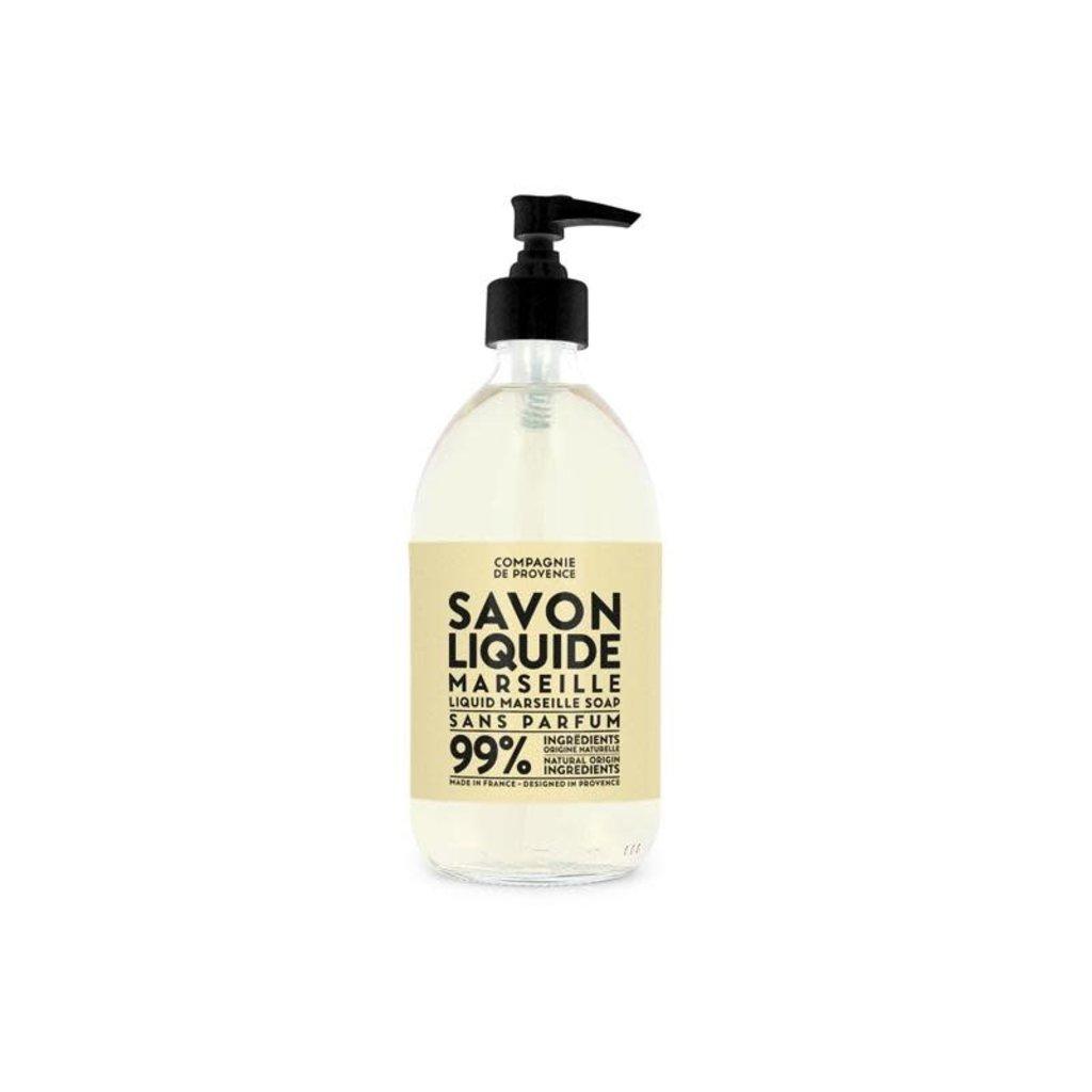 LOTHANTIQUE Compagnie de Provence Savon Liquide Marseille Extra Pur Sans Parfum 500 ml