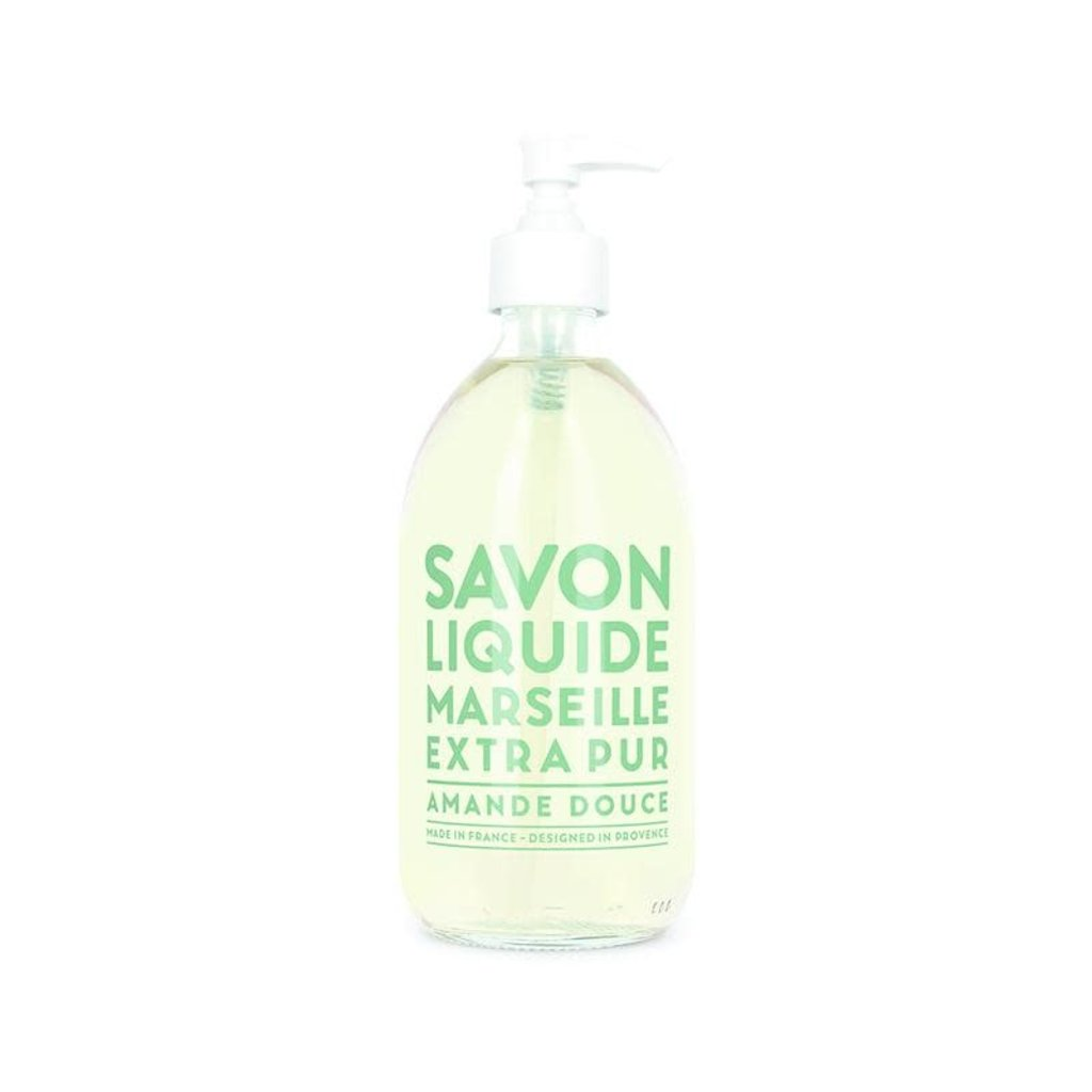 COMPAGNIE DE PROVENCE  Savon Liquide Marseille Extra Pur Amande Douce 500 ml