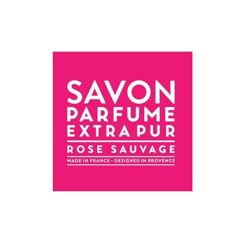 LOTHANTIQUE Compagnie de Provence Savon Parfumé Extra Pur Rose Sauvage 100 g