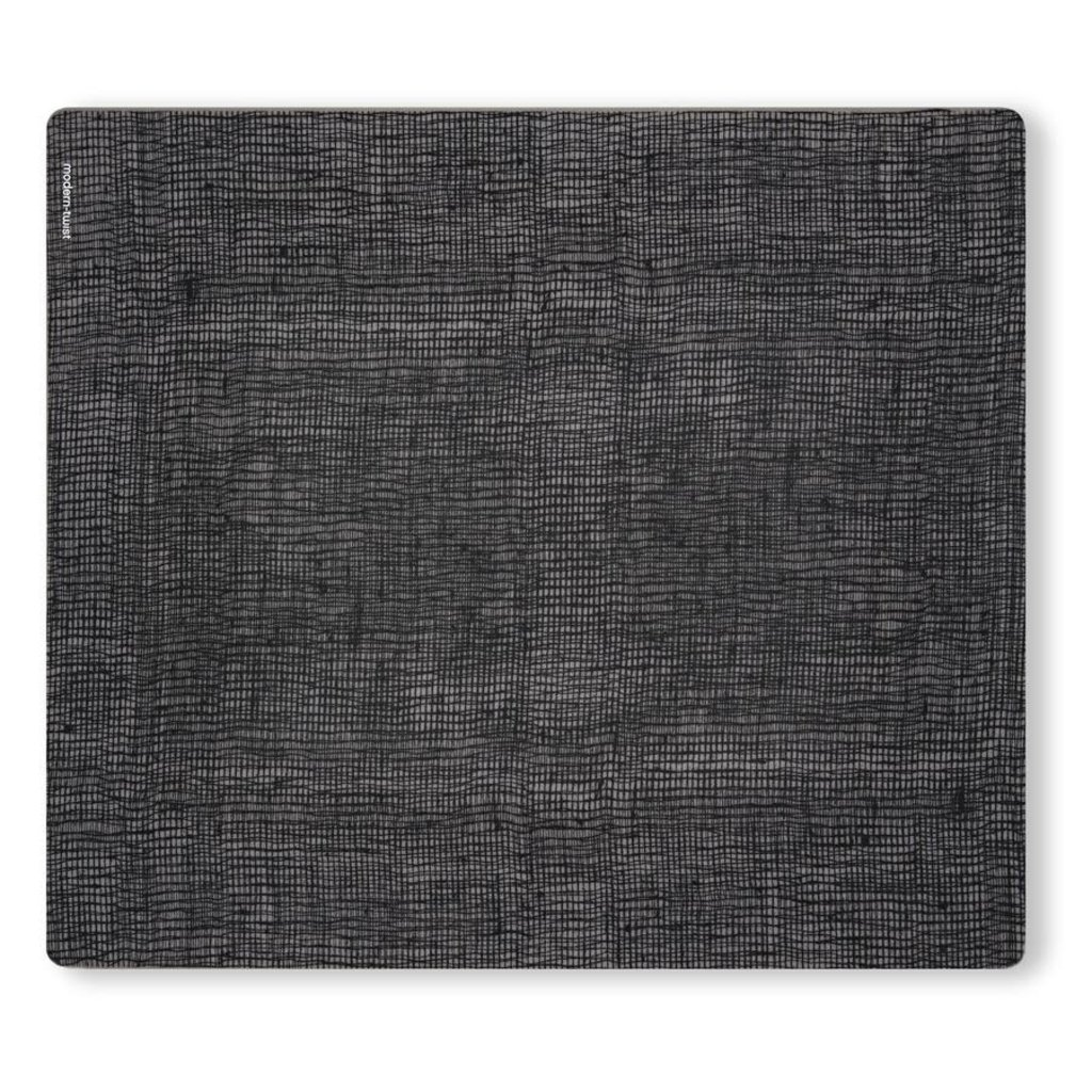 MODERN TWIST Placemat: Linen - Black