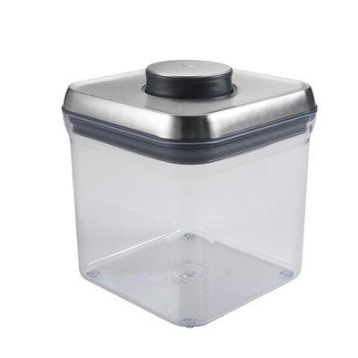 OXO Contenant POP Plastique sans BPA avec Couvercle Hermétique en Acier Inoxydable