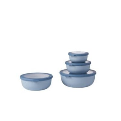 PORT-STYLE Mepal Cirqula Multi Bowl Nordi-Blue Set 4 Pieces