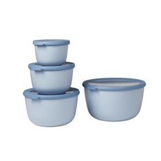 PORT-STYLE Mepal Cirqula Multi Bowl Nordic-Blue Set/4