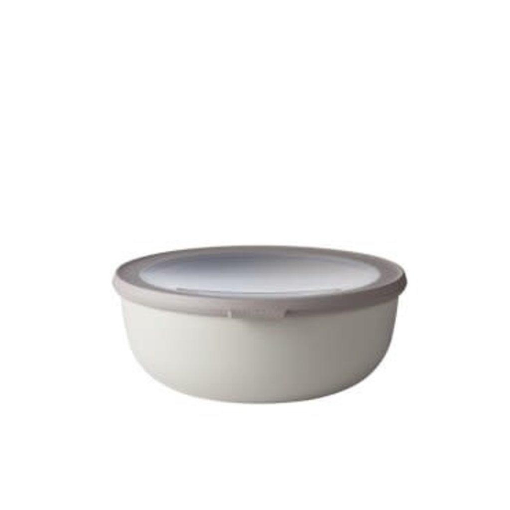 Mepal Cirqula Multi Bowl White 2.3 QT - 2.2 L