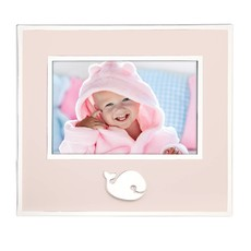 REED & BARTON Whale Frame Pink