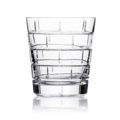 ROGASKA Quoin Verre à Whiskey ''Old Fashioned'' Crystal Ens/2 - 12 Oz