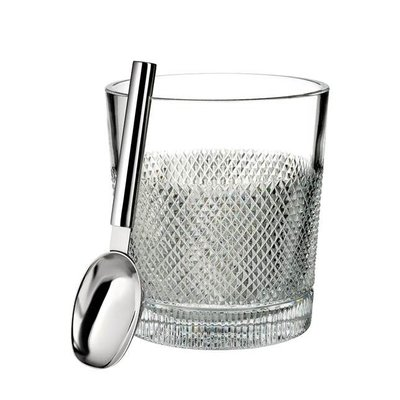 WATERFORD Diamond Line Ice Bucket 3.5 Qt (With Scoop)