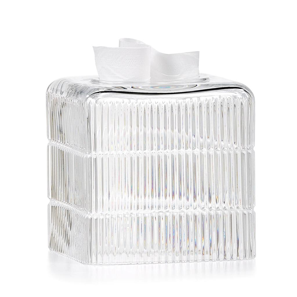 LABRAZEL Couvre-tissu en cristal fin Prisma clair