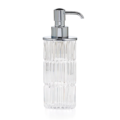 LABRAZEL Distributeur de savon Prisma Fine Crystal & Chrome poli