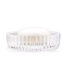 LABRAZEL Prisma Fine Crystal Soap Dish in Clear