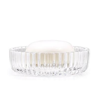 LABRAZEL Porte-savon en cristal fin Prisma