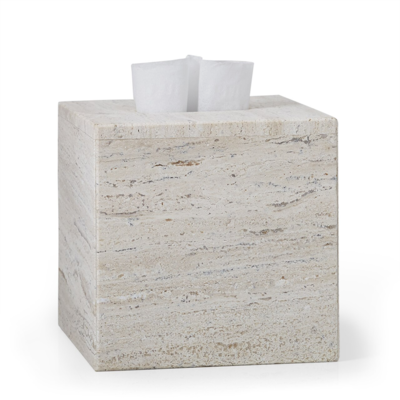 LABRAZEL Aztec Travertine Marble Tissue Cover
