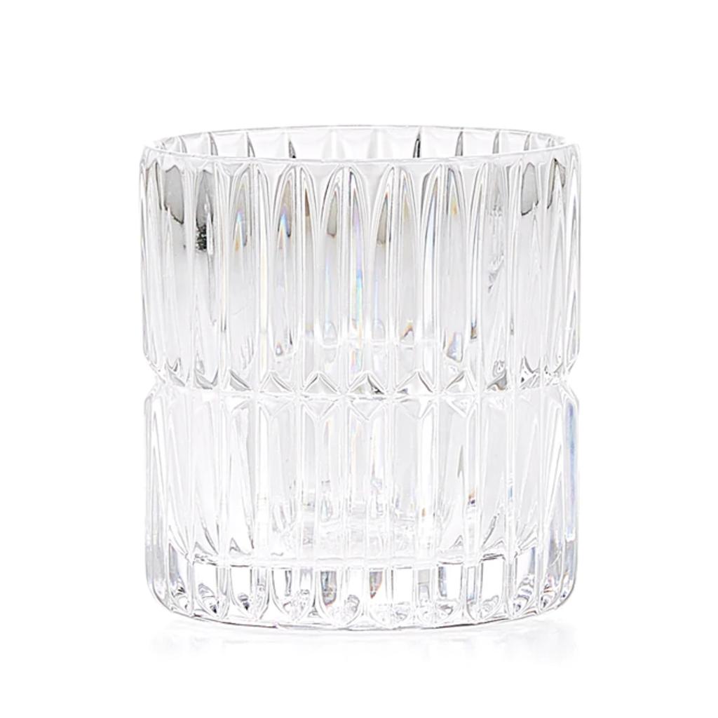 LABRAZEL Gobelet à brosse à dents en cristal fin Prisma en clair