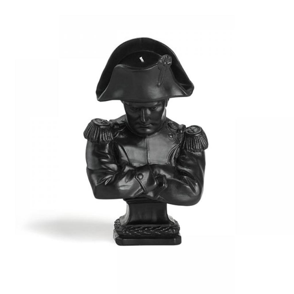 CIRE TRUDON Napoléon Bust Candle in Black