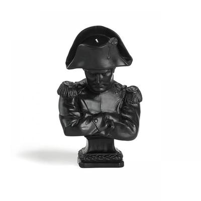 CIRE TRUDON Bougie Buste Napoléon - Noir