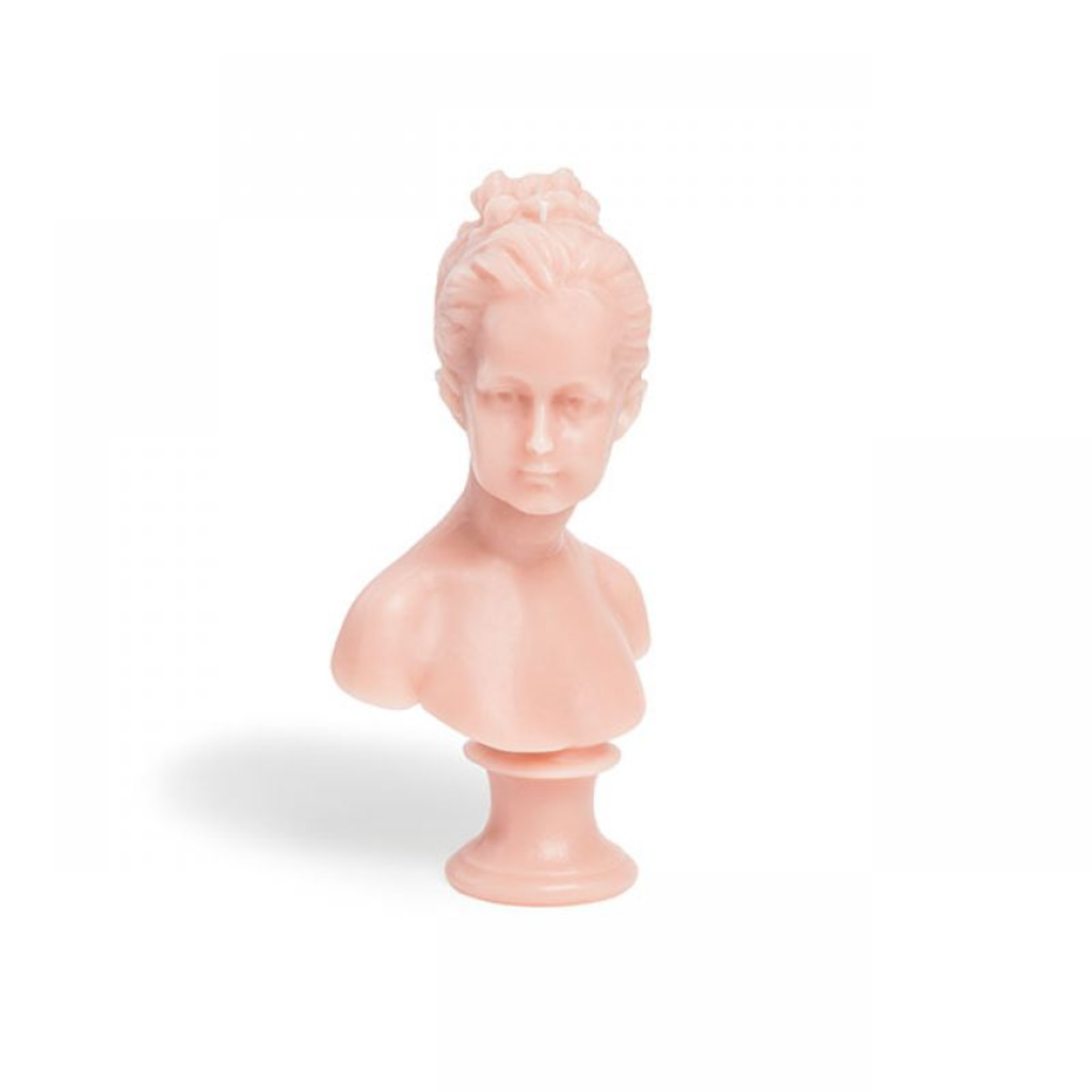 CIRE TRUDON Louise Bust Candle in Pink