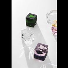 REFLECTIONS COPENHAGEN Bougeoir en cristal fin Ophelia clair