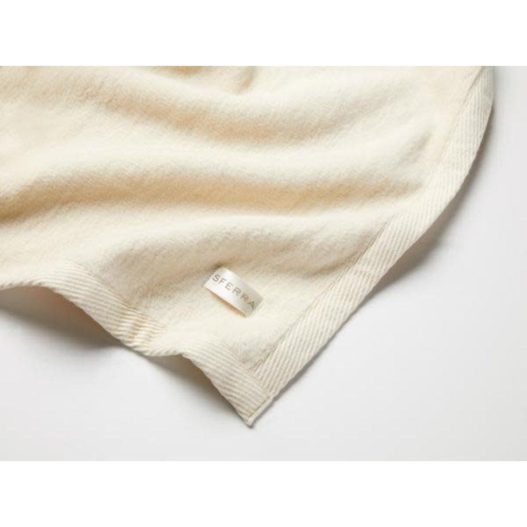SFERRA St. Moritz - Super King Blanket 120X100 Ivory