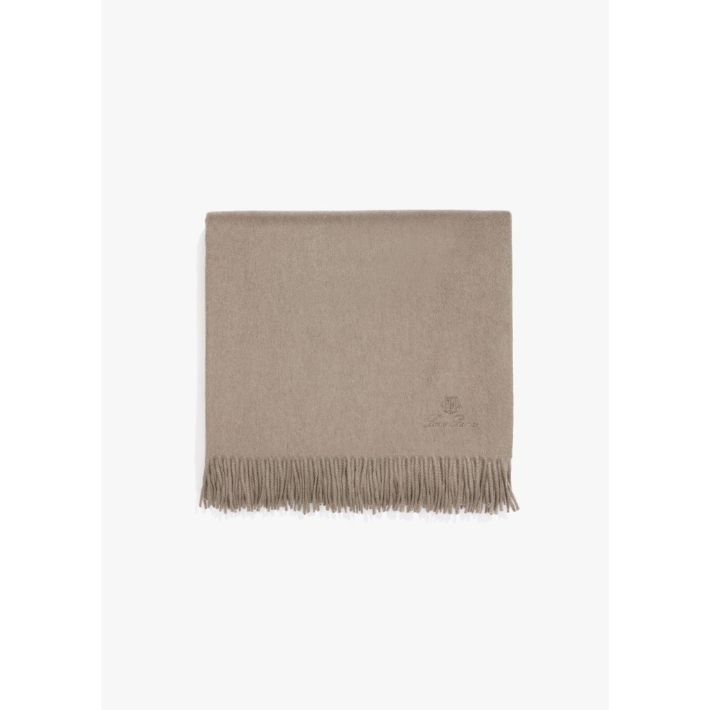 Unito Cashmere Throw in Shaded Cloud