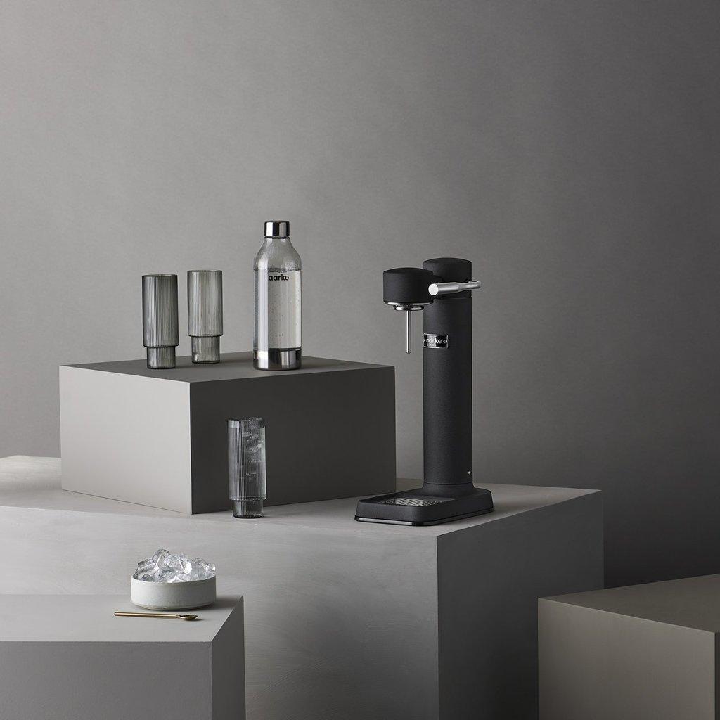 AARKE Carbonateur d'eau pétillante III - Noir mat