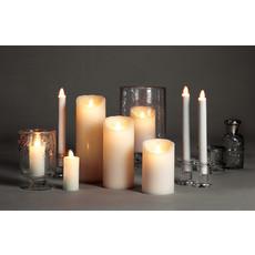 "ABBOTT Lg 3X9"" Ivory Flameless Candle"