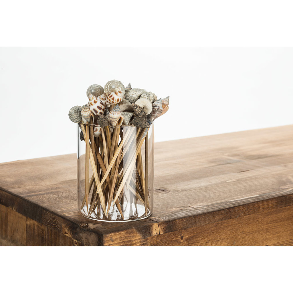 """ABBOTT Set 50 Cocktail Picks With Shell Top 5""""L"""