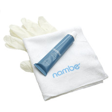 NAMBE Kit de Polissage - Tube avec Gants et Chiffon de Polissage