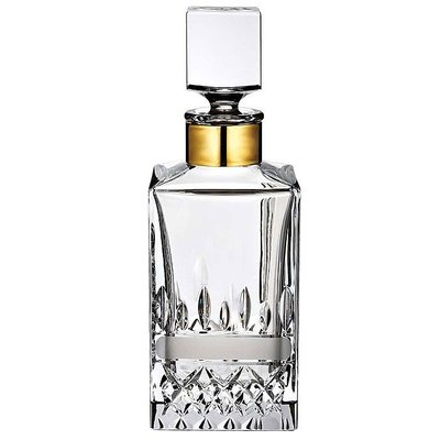 WATERFORD Lismore Revolution Decanter Square 25.3 Oz