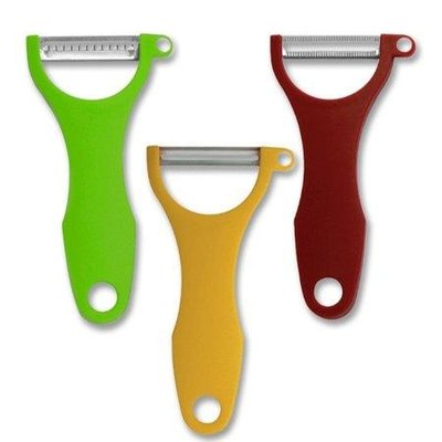 SWISSMAR SWISSMAR 3-Piece Y-Peeler Set (Spice-Serrated Curry-Scalpel Green-Julienne)