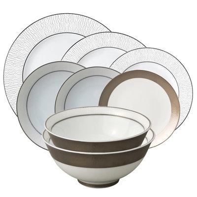 BERNARDAUD Dune Collection de Vaisselle